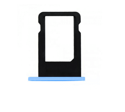 Tiroir Sim Compatible iPhone 5C BLEU