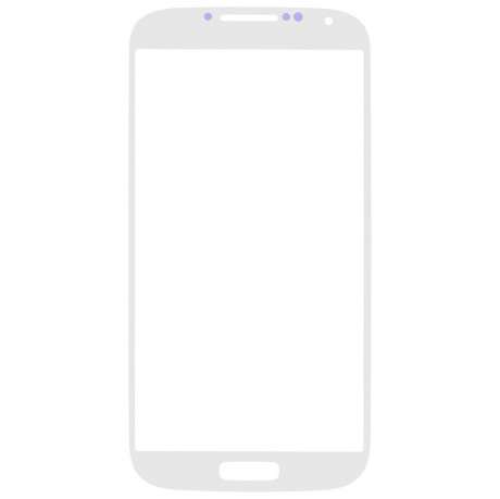 Vitre Tactile Samsung Galaxy S4 BLANC avec Scotch 3M