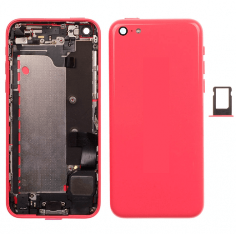 Coque Assemblée Compatible iPhone 5C ROSE