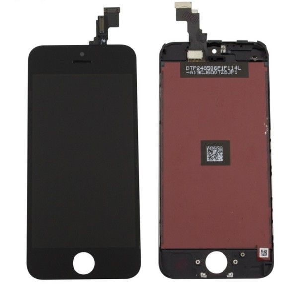 Ecran lcd complet iphone 5c noir original lapommediscount for Photo ecran iphone 5c