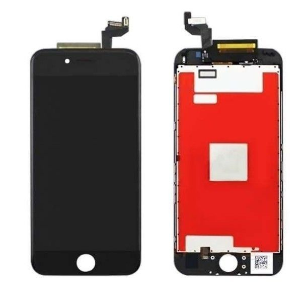 Ecran lcd complet iphone 6s noir original lapommediscount for Ecran photo iphone noir