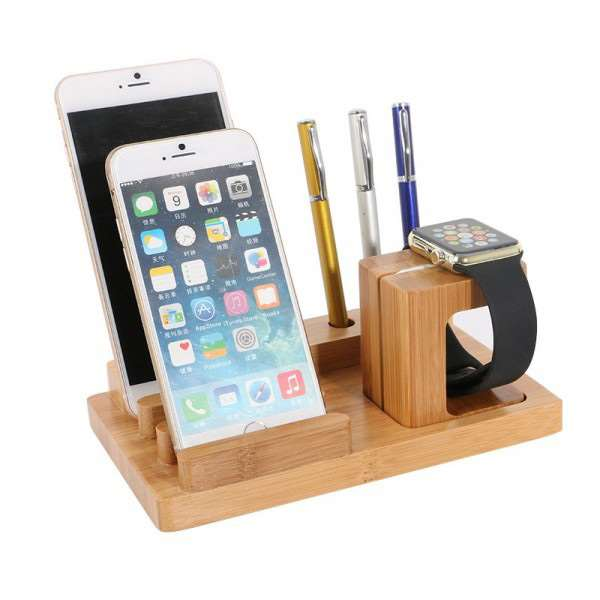 Support / Dock Bois iWatch / iPhone / iPad