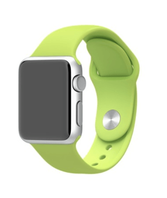 Bracelet Apple Watch 38mm vert