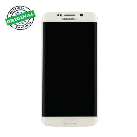 Ecran Amoled Original Samsung Galaxy S6 Edge BLANC