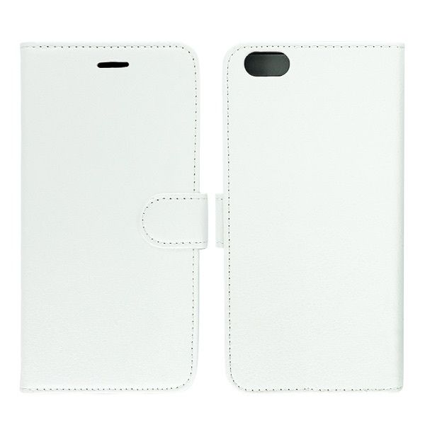 Coque Portefeuille à Rabat  Blanc iPhone 6 Plus