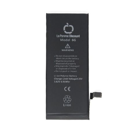 Batterie Li - ion 1810 mAh Compatible iPhone 6 LaPommeDiscount