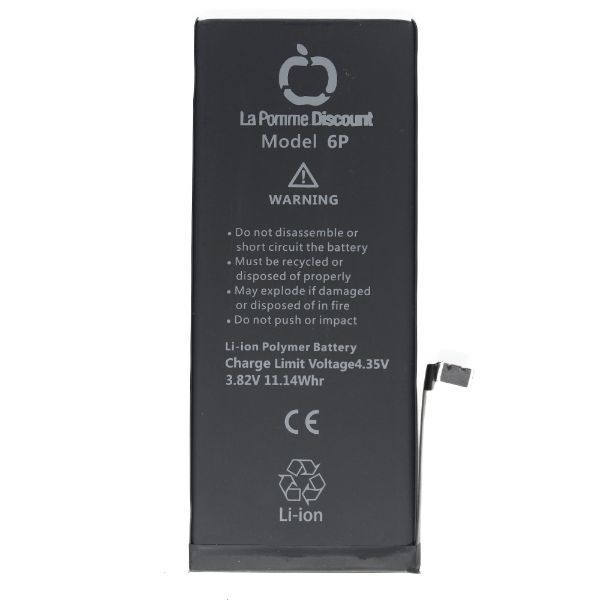 Batterie Li - ion 2915 mAh Compatible iPhone 6 Plus Blue Star