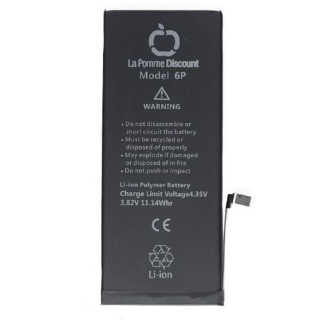 Batterie Li - ion 2915 mAh Compatible iPhone 6 Plus LaPommeDiscount