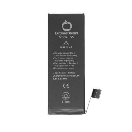 Batterie Li - ion 1560 mAh Compatible iPhone 5S LaPommeDiscount