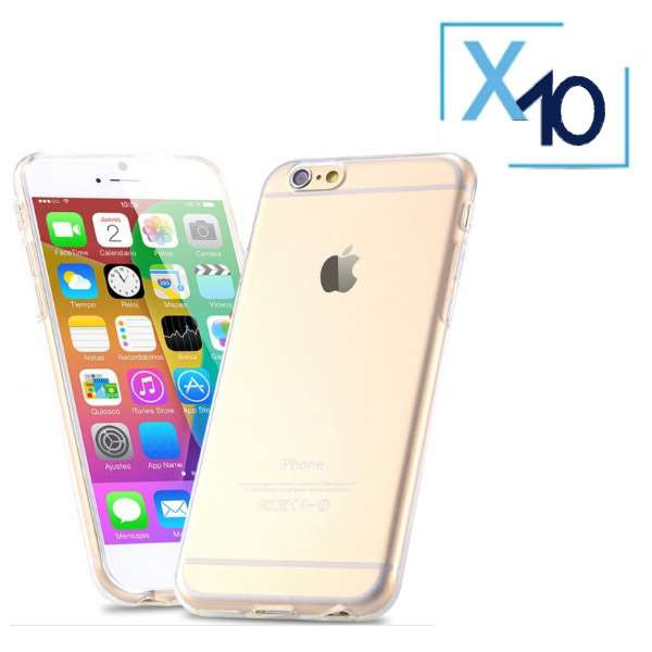 Lot x10 Coque de Protection Transparente iPhone 6 / 6S Plus