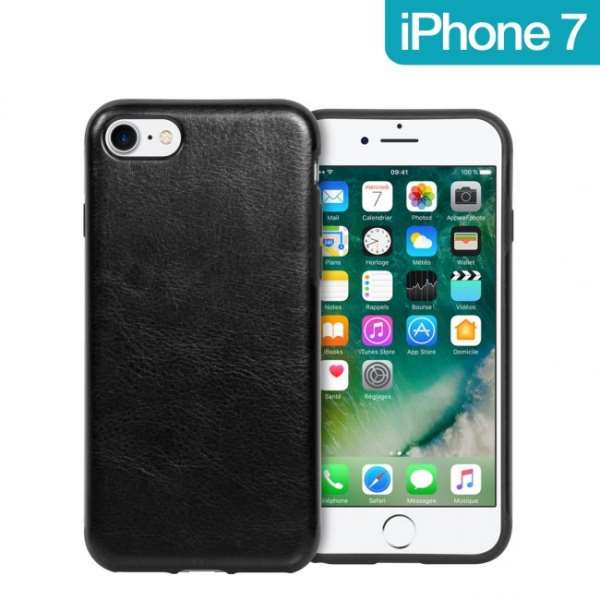 Coque Imitation Cuir iPhone 7 / 8