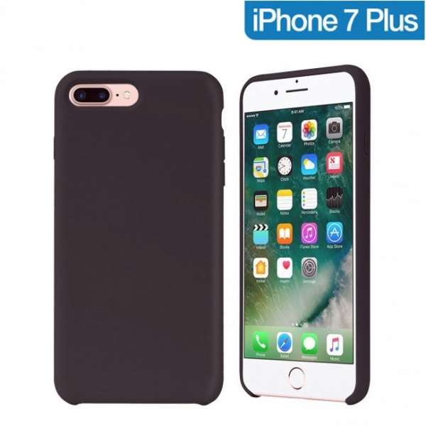 coque iphone 7 plus noir or