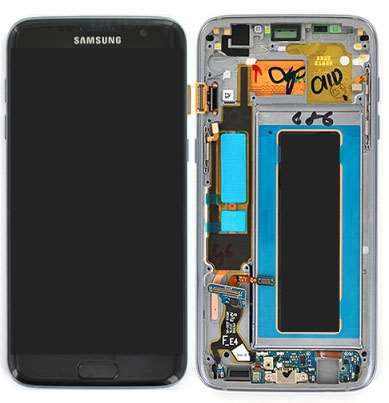 Ecran Amoled Original Samsung Galaxy S7 Edge NOIR