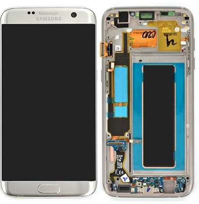 Ecran Amoled Original Samsung Galaxy S7 Edge ARGENT