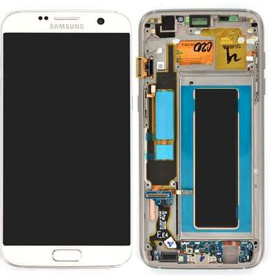 Ecran Amoled Original Samsung Galaxy S7 Edge BLANC