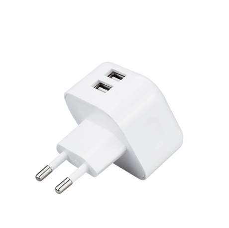 Prise Chargeur Secteur Double USB iPhone / iPod / iPad
