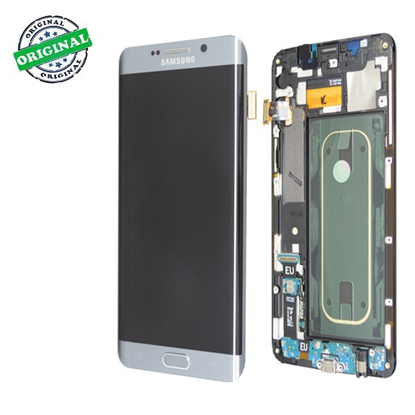Ecran amoled original samsung s6 edge plus argent for Samsung s6 photo ecran
