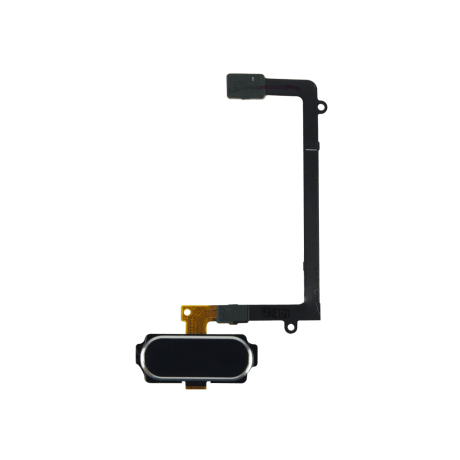 Nappe Bouton Menu Noir Compatible Samsung S6 Edge Plus