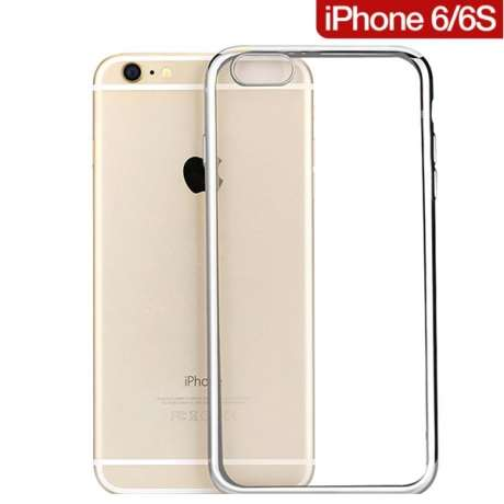 Coque Transparente TPU Contour Brillant iPhone 6 / 6S