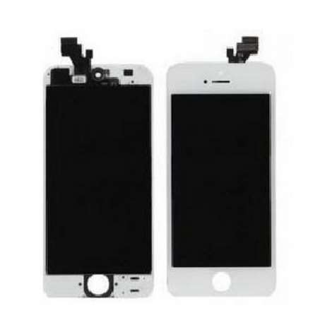 Ecran LCD Compatible iPhone 5 BLANC