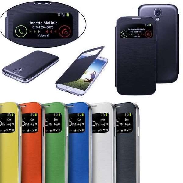 Coque Samsung S View Cover Galaxy S4