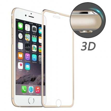Film Anti - choc / Verre Trempé 3D Bordures iPhone 6/6S