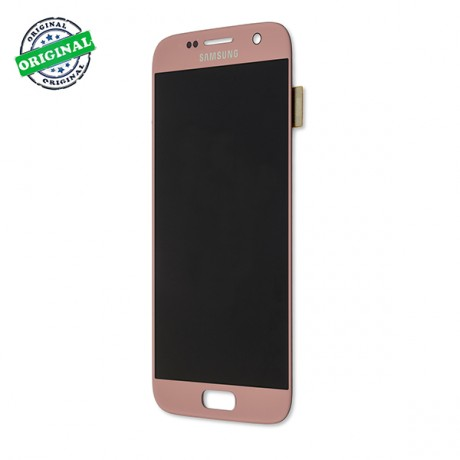 Ecran Amoled Original Samsung Galaxy S7 ROSE OR