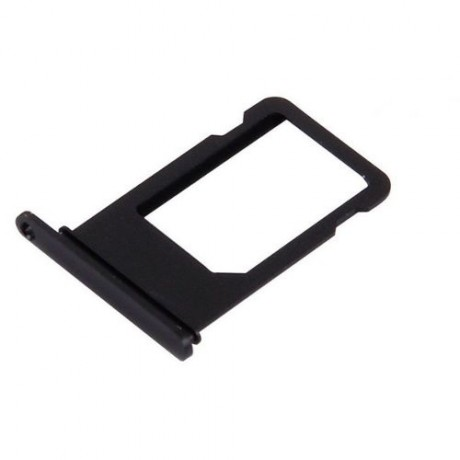 Tiroir Sim Compatible iPhone 7 Noir de jais