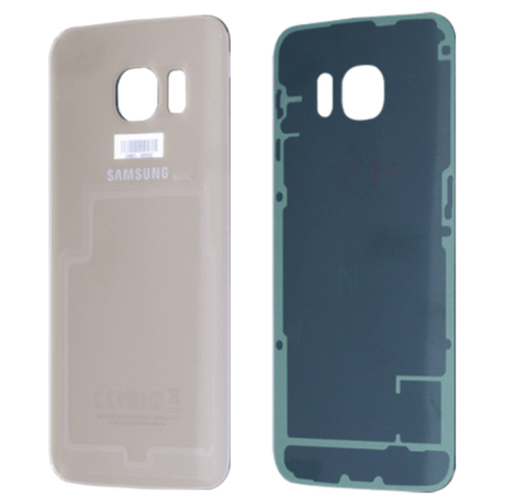 Cache Batterie Samsung Galaxy S6 Edge Or
