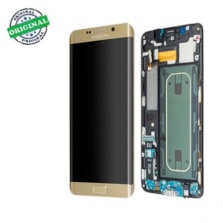Ecran Amoled Original Samsung Galaxy S6 Edge Plus Or Gold