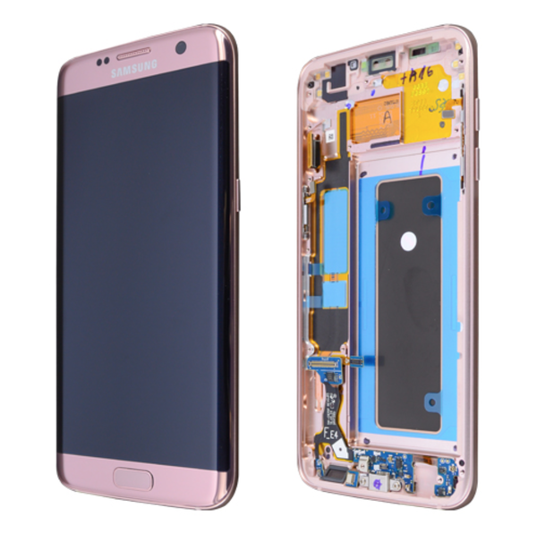 Ecran Amoled Original Samsung Galaxy S7 Edge ROSE