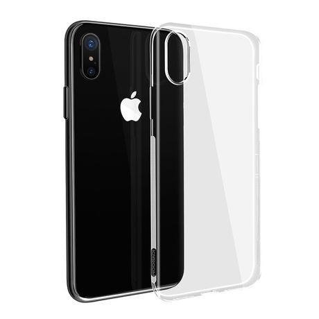 Coque Transparente TPU iPhone X
