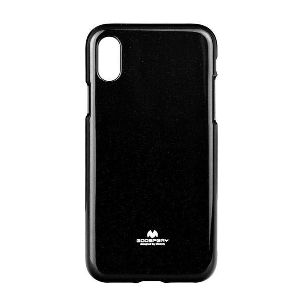 Coque TPU iPhone X / XS Jelly Mercury NOIR