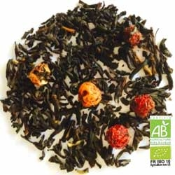"Organic black tea ""4 fruits rouges"""