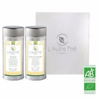 "Gift box ""2 organic green teas"""