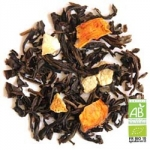 Sweet orange organic Oolong tea