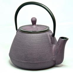 Black cast iron teapot 1 L