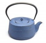 Cast iron teapot