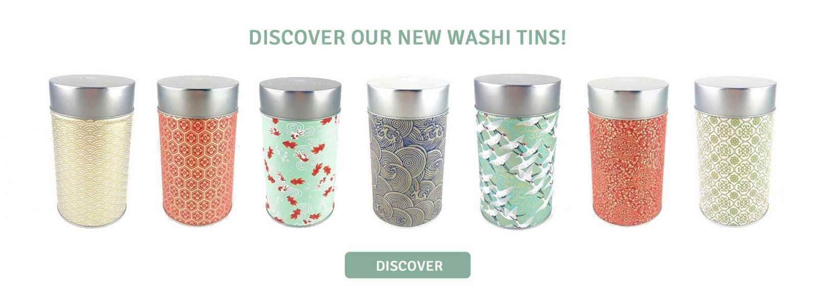 Discover our new washi tins