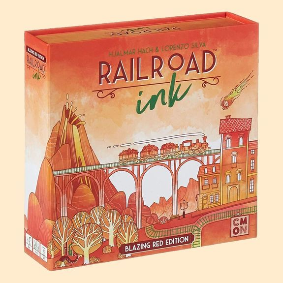 Railroad Ink. Rouge