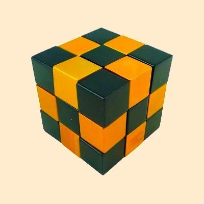 Cross Puzzle - Cube Snake