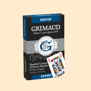 Cartes Grimaud Expert Bridge (Bleu)