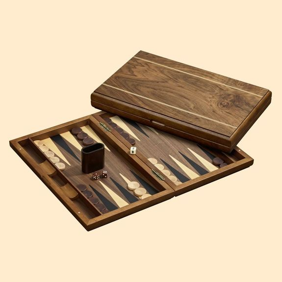 Grand Backgammon en bois - Delos
