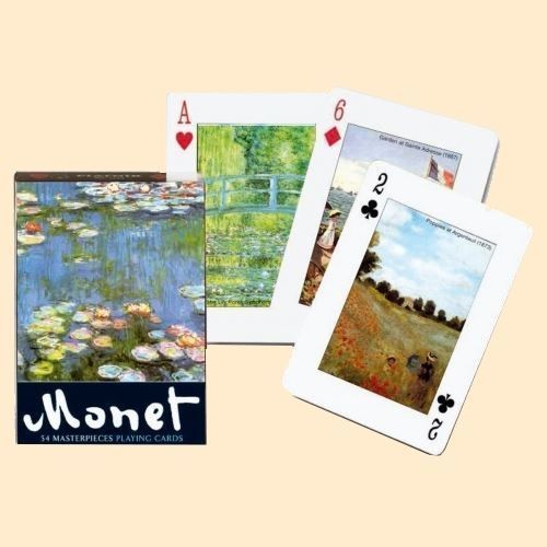 Jeu de 55 cartes - Monet