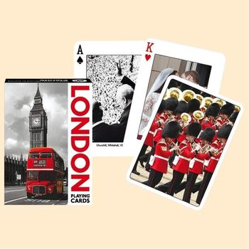 Jeu de 55 cartes - London