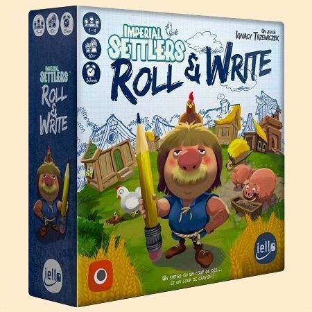 Imperial Settlers : Roll and Write