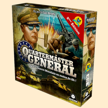 Quartermaster General - 2ème Edition