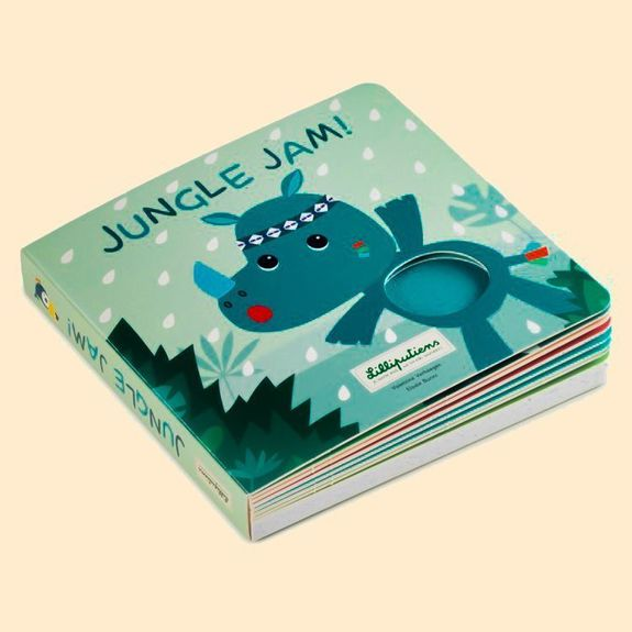 Jungle - Livre tactile et sonore