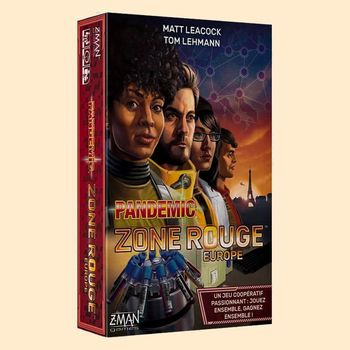 Pandemic : Zone Rouge - Europe
