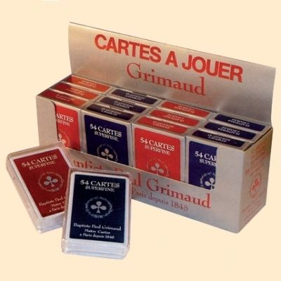 Cartes Grimaud superfine 54